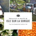Marché Isle sur la Sorgue